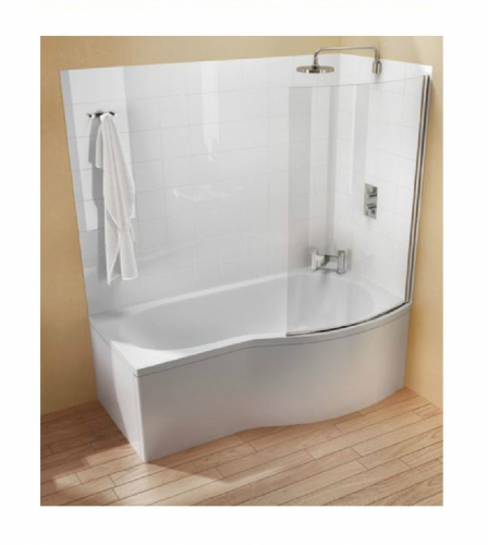 Cleargreen Ecoround Shower Bath 1700 x 900mm